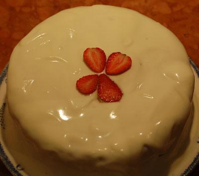 Bela čoko torta