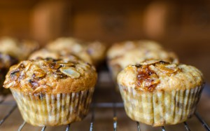 Marmalade and Almond Muffins