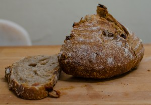 Spiced fruit sourdough